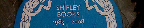 Shipley Books Plaque