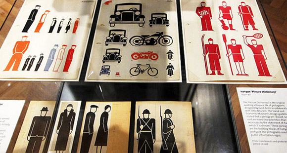Isotype exhibit at the V&A
