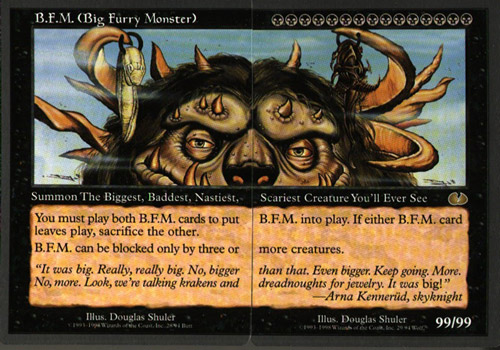 Big Furry Monster cards