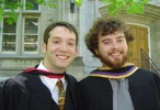 Dave and Alex @ Convocation