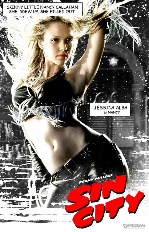 Finally got around to seeing Sin City a couple of days ago after a number of