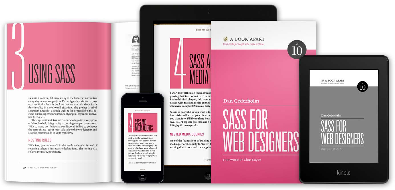 Sass for Web Designers by Dan Cederholm