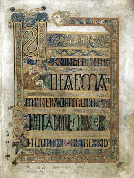 Book of Kells Sample